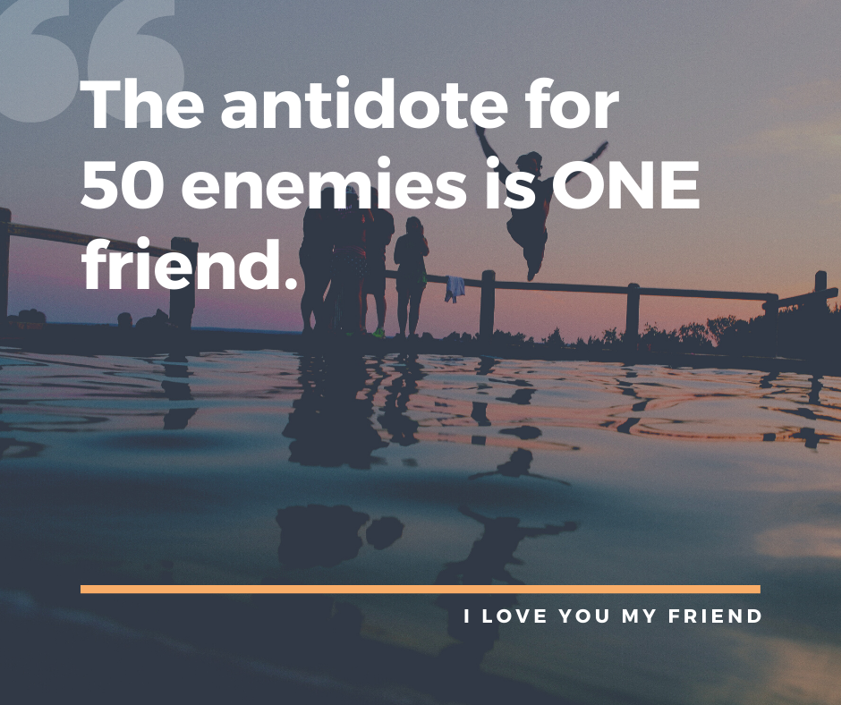 I love you Quotes For Friend