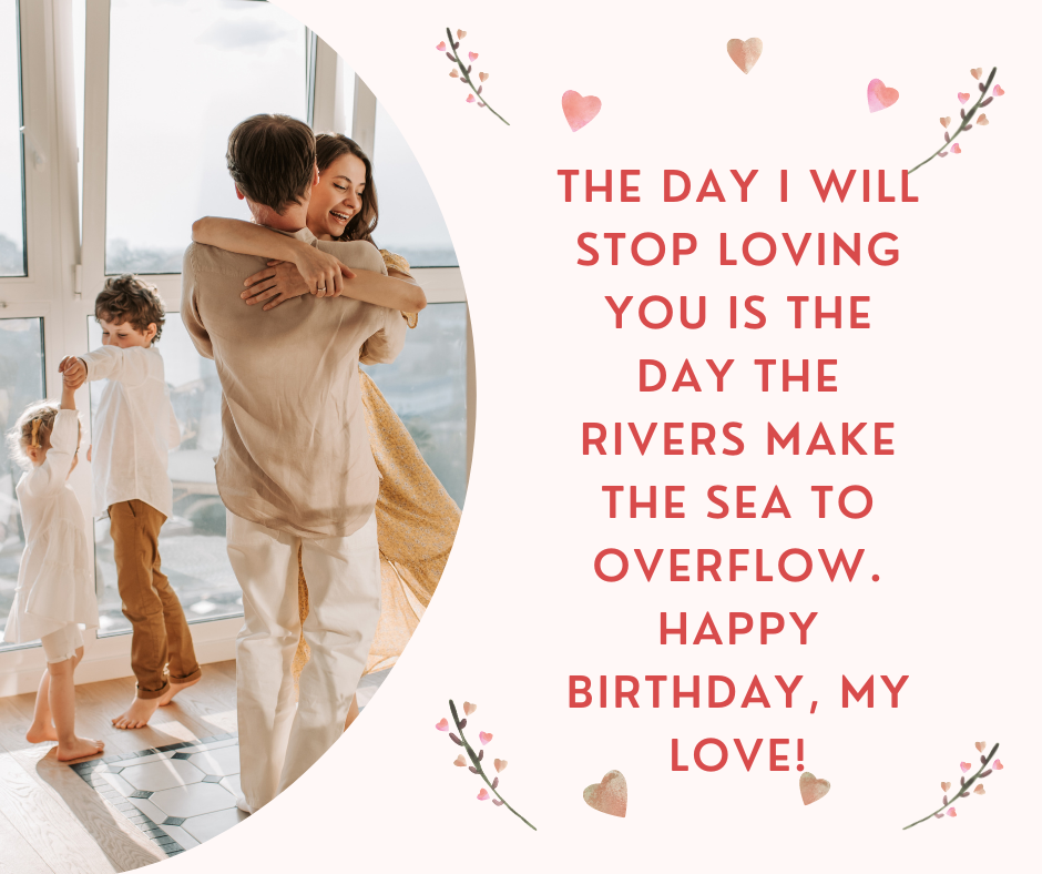 Happy birthday wishes for lover