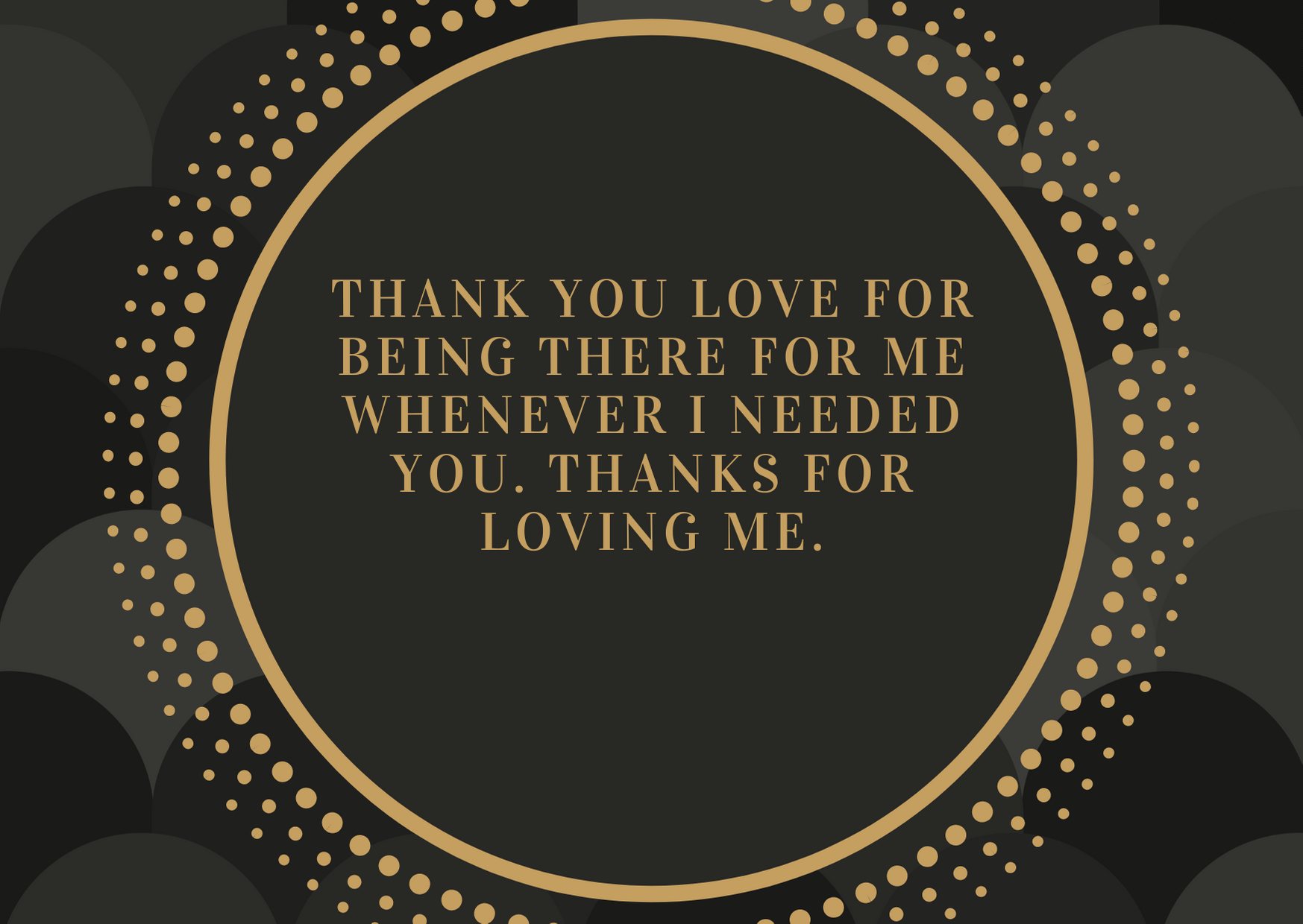 thank you messages for lover