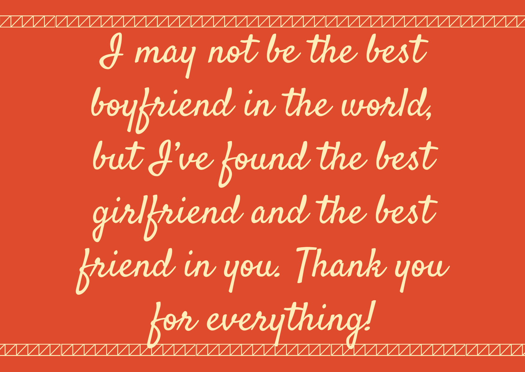 thanku you messages for girlfreind